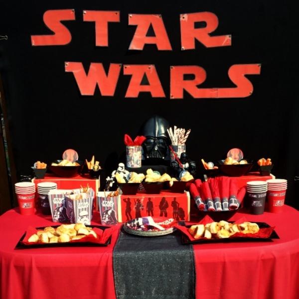star wars szülinap