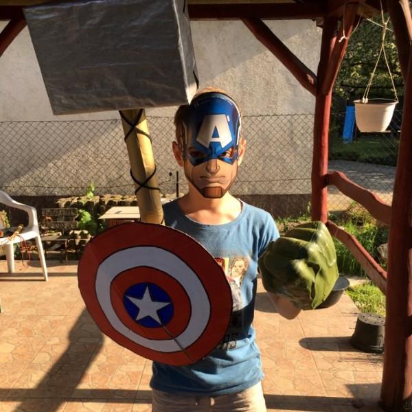 szuperhős amerika kapitány szülinap